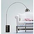 Achille Castiglioni ACTFL002 Black Marble Floor Lamp Modern Classic Replica Funiture