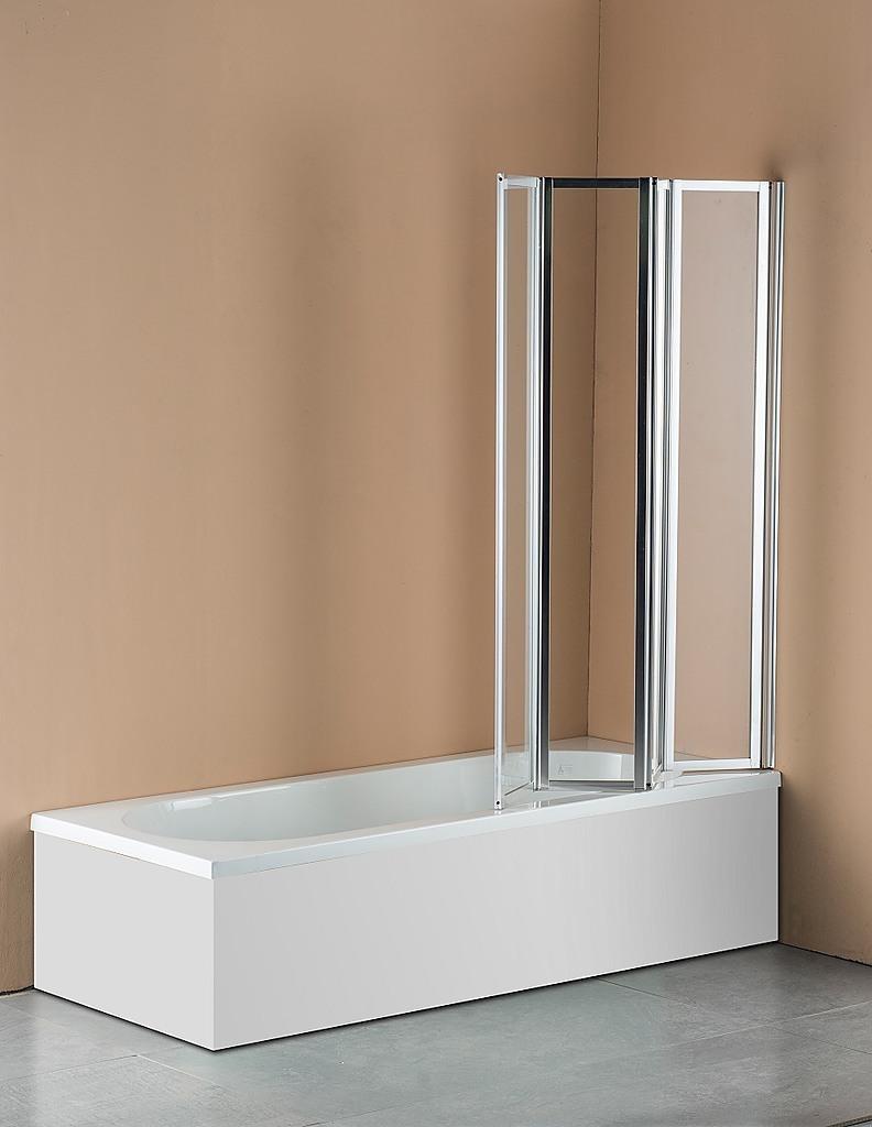 4 fold folding bath and shower screen 1000mm x 1400mm 4 fold chrome folding bath shower screen door panel 1000 x 1400mm