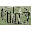 10 x 800mm Tall Panel Pet Exercise Pen Enclosure