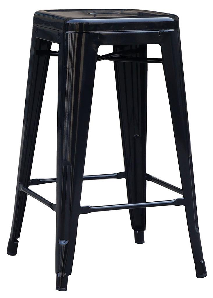 Set Of 4x 66cm Tolix Retro Reproduction Cafe Bar Stools