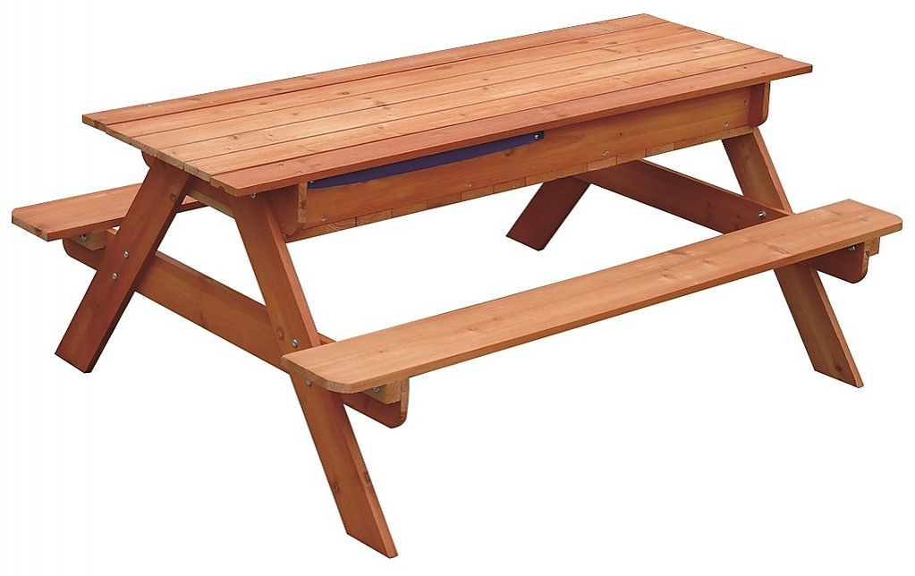 Sand Amp Water Wooden Picnic Table Toys Gt Outdoor