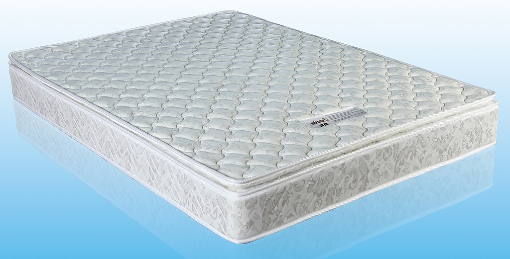 The Palermo Double Luxury Latex Pillow Topper Spring Mattress