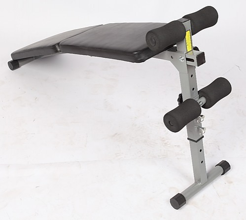Adjustable Abdominal Crunch Sit Up Bench Sports Fitness