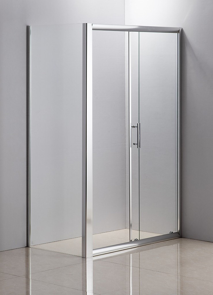 1200 X 700 Sliding Door Safety Glass Shower Screen By