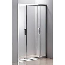 120cm Sliding Door Safety Glass Shower Screen By Della Francesca {{Colour}}