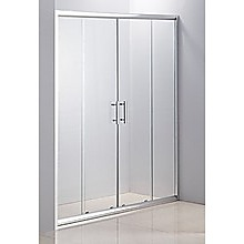 170cm Sliding Door Safety Glass Shower Screen By Della Francesca