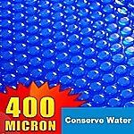 Solar Outdoor Swimming Pool Cover Blanket -9.1x5.1m BARILOCHE 400 MIC
