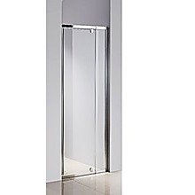 72 - 80cm  Finger Pull Wall to Wall Shower Screen By Della Francesca