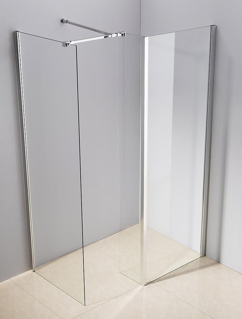 1200x800mm walk in shower enclosure safety glass shower by della francesca diy renovation - Walk in glass shower enclosures ...