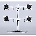 Quad/4 Monitor Mount Freestanding Desktop Stand