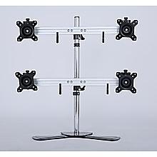 Quad/4 Monitor Mount Freestanding Desktop Stand