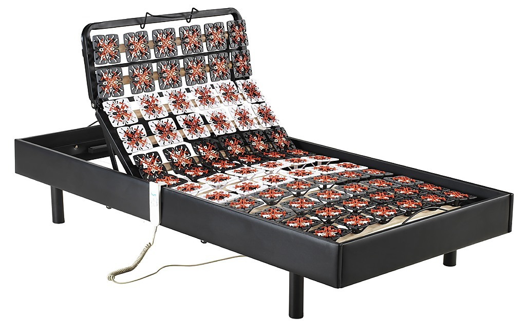Palermo Electric Adjustable Bed Frame Single Size - Support on a ...