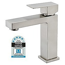 Basin Mixer Tap Faucet -Kitchen Laundry Bathroom Sink Brushed Finish