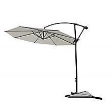 3m Outdoor Cantilever Umbrella Aluminum Frame - Beige