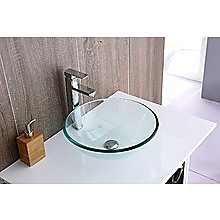 12mm Tempered Glass Above Counter-top Basin for Vanity