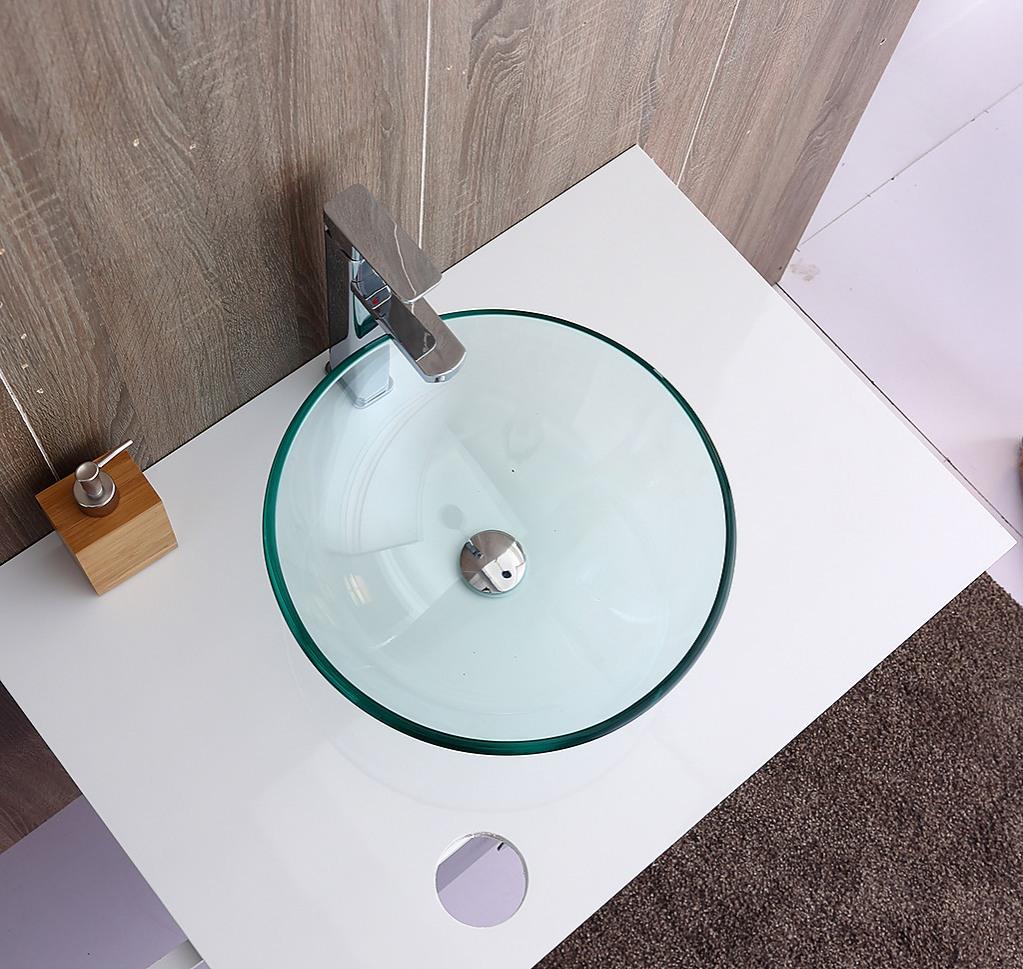 12mm Tempered Glass Above Countertop Basin For Vanity Diy Renovation Bathroom Basins