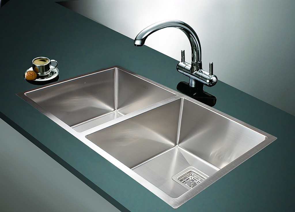 835x505mm handmade stainless steel sink with square - Square stainless steel bathroom sink ...