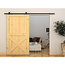2.4m Sliding Barn Door Hardware