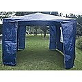 Outdoor Gazebo/Marquee Tent 3x3m - Blue