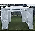 Outdoor Gazebo/Marquee Tent 3x3m - White