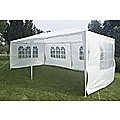 Outdoor Gazebo/Marquee Tent 3x6m - White