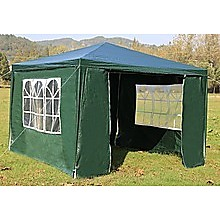 Outdoor Gazebo/Marquee Tent 3x3m - Green
