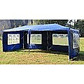 Outdoor Gazebo/Marquee Tent 3x6m - Blue