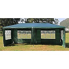 Outdoor Gazebo/Marquee Tent 3x6m - Green
