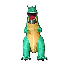 T-Rex Fancy Dress Inflatable Suit -Fan Operated Costume