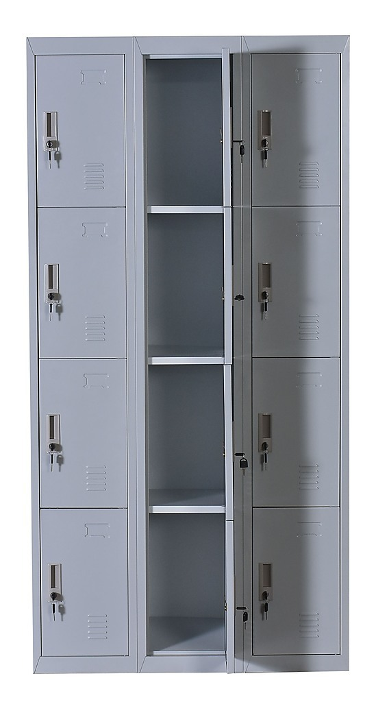 Twelve Door Office Gym Shed Storage Locker