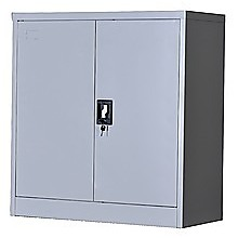 Two-Door Shelf Office Gym Filing Cabinet Safe Storage Locker