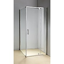 Shower Screen 900x900x1900mm Framed Safety Glass Pivot Door By Della Francesca