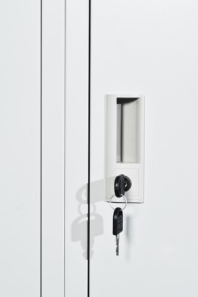 Three Door Multiple User Storage Locker