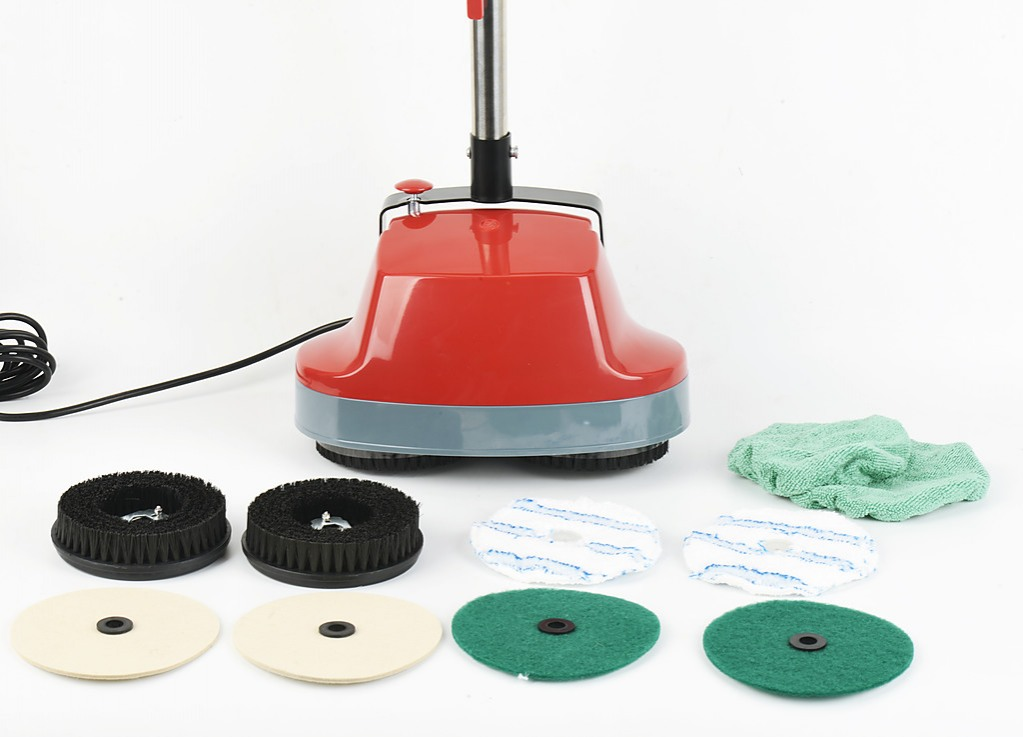 Electric floor polisher timber hard tile waxer cleaner for Floor polisher