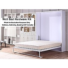 Palermo Queen Size Wall Bed Mechanism Hardware Kit