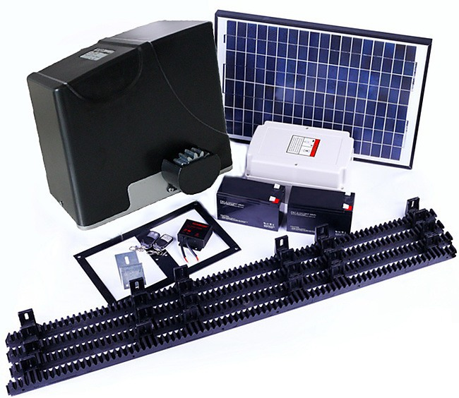 1000kg Auto Slide Sliding Gate Opener Automatic With Solar