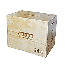 3 IN 1 Wood Plyo Games Plyometric Jump Box