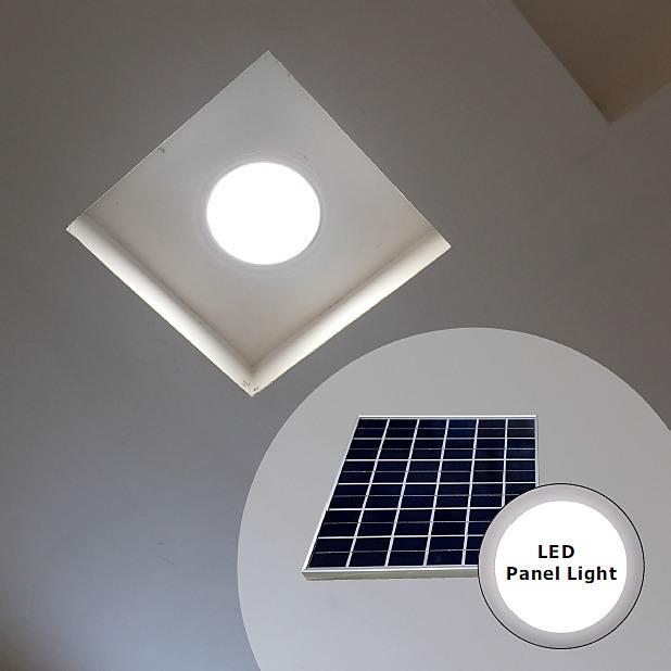 Solar Skylight 15 Watt Led Round 300mm Diy Amp Renovation