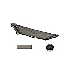 4.0 x 3.0m Grey Retractable Folding Arm Heavy Duty Cassette Awning