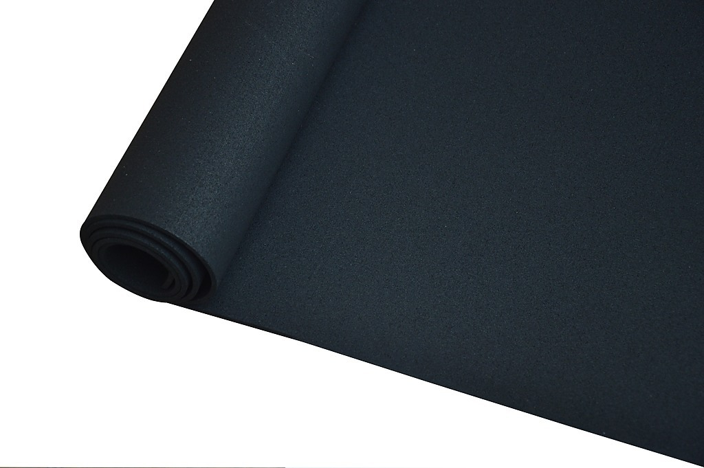 M gym rubber floor mat reduce treadmill vibration