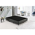 Palermo King Single Ensemble Bed Base Platinum Graphite Linen Fabric