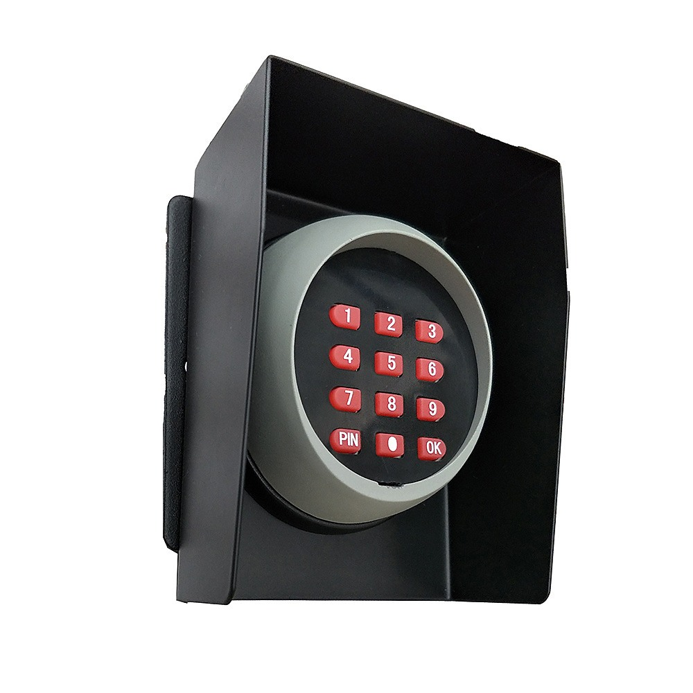 Wireless Keypad Entry For Swing And Sliding Gate With