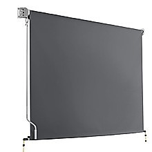 2.1 x 2.5m Retractable Straight Drop Roll Down Awning Screen