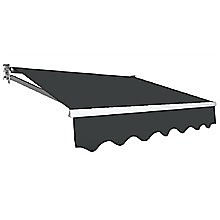 4.0 x 3.0m Outdoor Folding Arm Retractable Sunshade Awning