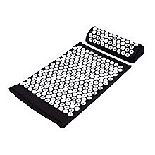 Massage Acupressure Yoga Mat With Pillow Sit Mats Cut Pain Stress Soreness