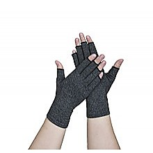 Arthritis Gloves Compression Joint Finger Hand Wrist Support Brace - Large