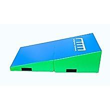 120x60x35cm Foldable Soft Incline Gymnastics Mat Wedge Yoga Gym Balance Training