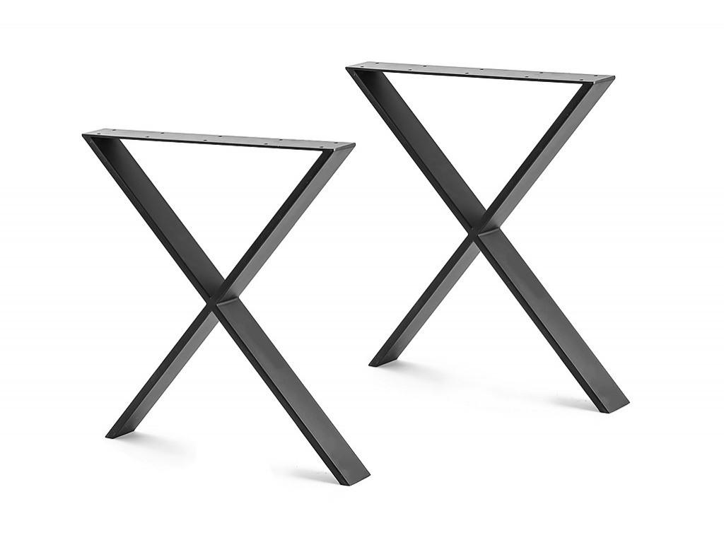 x shaped table bench desk legs retro industrial design fully welded rh factoryfast com au