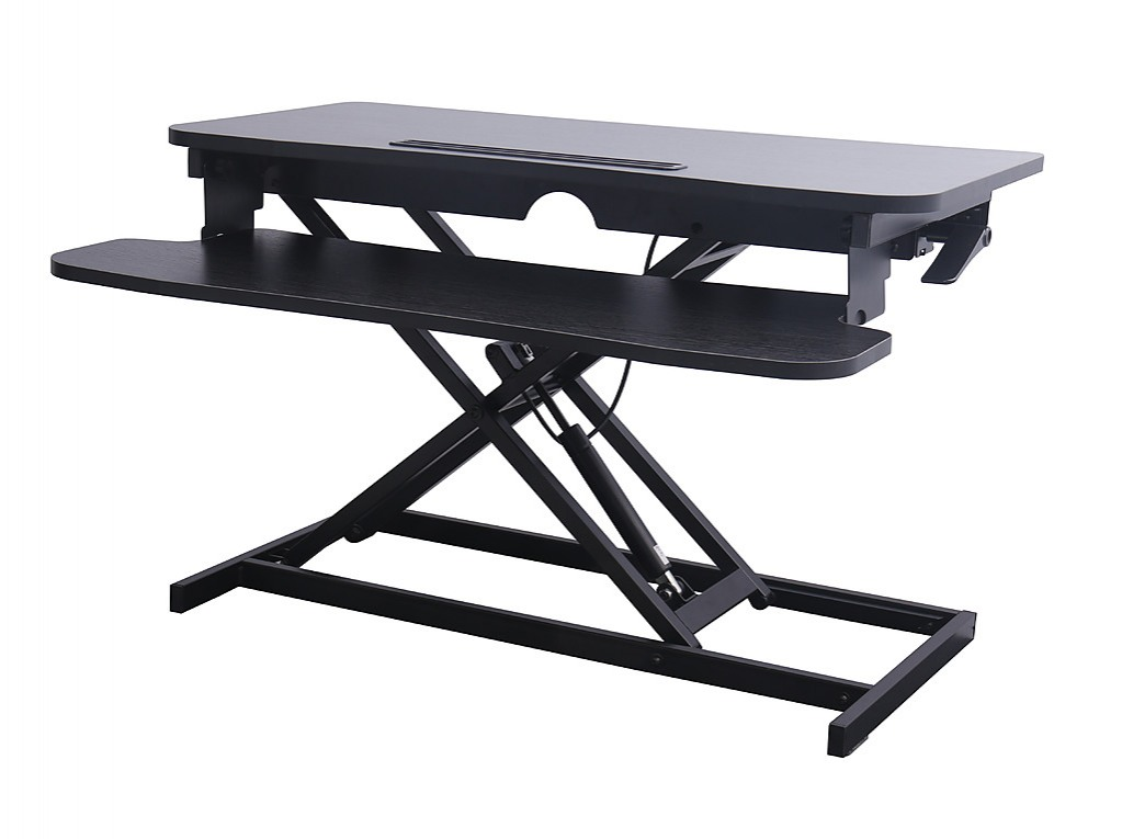 height adjustable standing desk riser sit stand desktop office rh factoryfast co nz