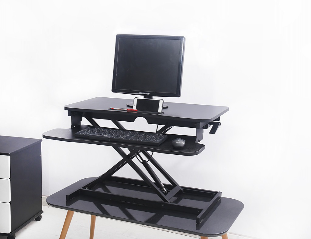 height adjustable standing desk riser sit stand desktop office rh factoryfast com au